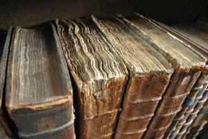 Libros cogiendo polvo