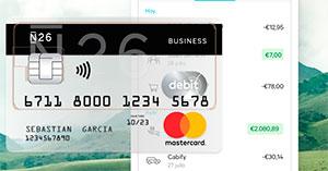 Cuenta y tarjeta N26 Business