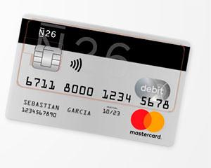 Cuenta y tarjeta N26 gratis